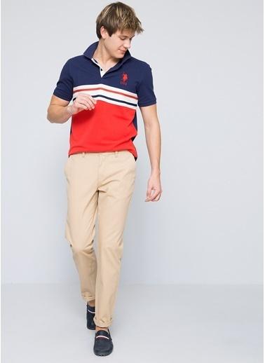 U.S. Polo Assn. Pantolon Bej